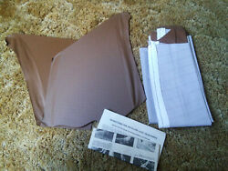 68 69 70 71 72 El Camino Deluxe Perforated Headliner Kit Saddle Brown Color