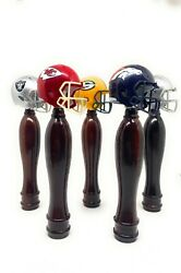 Nfl Helmet Pub Style Beer Tap Handle All Teams Available Cherry