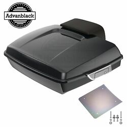 Advanblack Midnight Pearl Razor Tour Pack Luggage Fits 1997-2020 Harley Touring