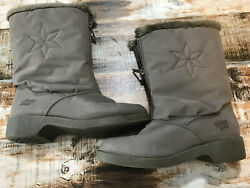 Ladies Snow Boots Cromatics By Totes Size 7m Light Brown $18.99