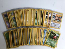 Nm Pokemon Cards Complete 1st Edition Non Holo Neo Genesis Set Wizards Wotc Us