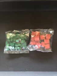 Monopoly Deluxe Replacement Wood Houses And Hotels Board Game Parts Pieces 1995