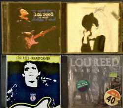 Lou Reed Transformer Coney Island Baby Live In Italy Concert New York Lot Cd