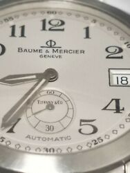 Baume And Mercier Geneve Automatic. Capeland Mvo45221 Double Signed Dial