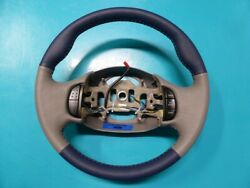 Ford F150/f250/excursion Custom Two-tone Padded Steering Wheel - New Leather