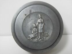 One Of A Kind - Heraldic Art Medal Die Hubs For The 12 Girl Scout Medal