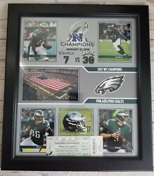 2017 2018 Nfc Championship Game Vikings At Eagles Photo And Ticket Stubs Row 1