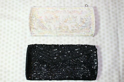 sequenced and beaded evening clutches made in Japan $9.00