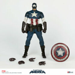 Threea 3a 1/6th Marvel Captain America Collectible Figure New Sealed In Stock