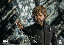 Threezero Game Of Thrones Tyrion Lannister 1/6th Deluxe Collectible Figure New