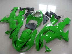 Injection Green Abs New Fairing Bodywork Kit Fit For Ninja Zx-10r 2006 2007 Aat