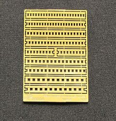 Vmodels 35004 - 1/35 - Photo-etched Piano Hinges Type 2 35004