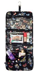 Mary Maxim Black Butterfly Hanging Cosmetic Bag $28.49