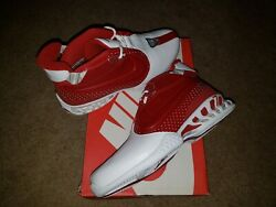 Nike Air Zoom Vick 2 Ii Varsity Red/white/silver Home Size 10.0 Ds