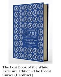 The Lost Book Of The White Waterstones Exclusive New Signed Chu Clare Rare