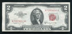 20 Consecutive 1953-b 2 Legal Tender United States Notes Uncirculated