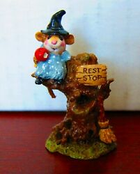 Wee Forest Folk M-213 Settin' A Spell - Made From 1996 To 1999