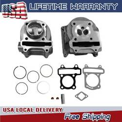 100cc 69 Mm Big Bore Cylinder Head Rebuild Kit For 139qmb Gy6 50cc 60cc Scooter