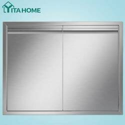Yitahome Bbq Island Access Door Stainless Steel Cabinet Kitchen Outdoor 31x 24