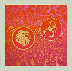 Zodiac Signs Joined In An Original Painting 3d Paint 20andrdquo X 20andrdquo Signed