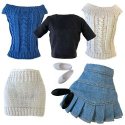 10andrdquo 11andrdquo Doll Clothes Fashion Pack Knit For Petite Doll Skipper Blythe Model Muse