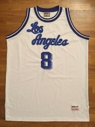 Mitchell And Ness Mandn Los Angeles Lakers Hwc Kobe Bryant Throwback Jersey 56