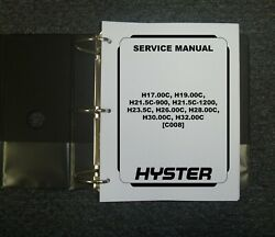 Hyster C008 H17.00c H19.00c H21.5c-900 Gas Forklift Truck Service Repair Manual