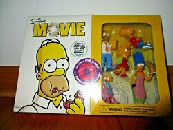 The Simpsons Movie Full Screen Dvd 2-pack Plus Exclusive Family Figurines