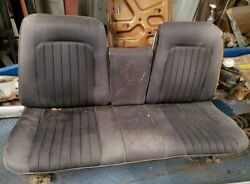 1966 67 68 4 Dr Impala Caprice Buick Olds Pont Strato Bench Seat W Power Seat