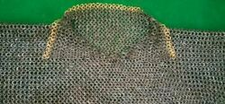 Titanium 9mm 18 Gauge Flat Ring All Rings Dome Riveted Chainmail Shirt Xxl Size