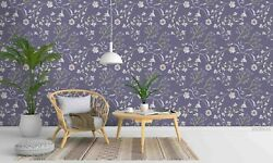 3d Pretty Lilac Flowers Wallpaper Wall Mural Removable Self-adhesive Sticker 5
