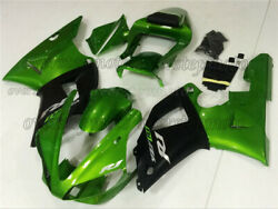Injection Green Black Mold Abs Plastics Set Fairing Fit For Yzf R1 2000-2001 Aah