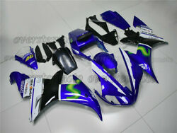 Injection Mold Fairing Bodywork Kit Fit For Yzf R1 2002-2003 Blue White Abs Aab