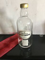 Hennessy Pure White Cognac Empty Liquor Bottle Rare Very Hard To Find In Usa