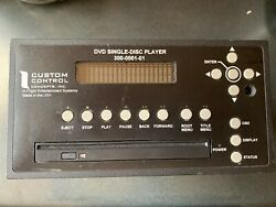 Custom Control Concepts Single Disc Player P/n 300-0001-01 With 8130