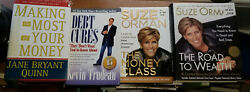 4 Financial Help Guide Books Debt Cures Road Wealth Orman Make Most Money