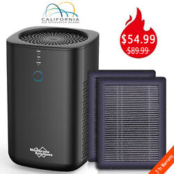 Large Room Air Purifier Cleaner Hepa Filter Remove Odor Dust Mold Home Allergies