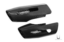 Real Carbon Fiber Exhaust Cover Ducati Multistrada 1200 1260 Until By 2018