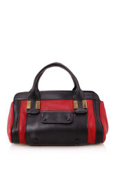 Pre-owned Chloandeacute Little Alice Bag Red Leather Smooth Leather