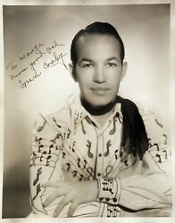 Spade Cooley Signed 8x10 Autographed