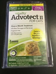 Vetality Advotect ll for medium cats and kittens 5 9 lbs. 6 month dosage #0347 $26.00