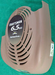 Used Craftsman 6.5 Mrs Briggs And Stratton Gas Powered Lawn Mower Engine Cover