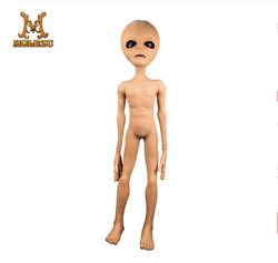 Alien Latex Prop Lifesize Ufo Roswell Martian Lil Mayo Area 51 Scary Prop