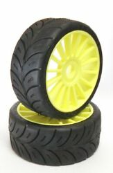 20x Tires 1/8 Gt On 6-razze Yellow 2016 Soft In Lotto N.402 20 Pairs