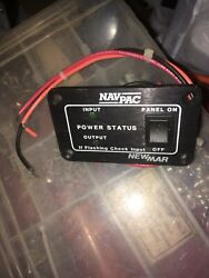 Newmar Navpac Model Np-12 Dc Power Conditioner 12 Volt Panel Switch