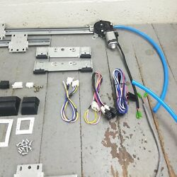 Early Nash Power Window Kit 3 Switches Flat Glass Vintage Style Worm Gear