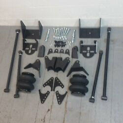 2600lb Bags Triangulated Full Size 4 Link Kit For 1966 - 1980 Cadillac