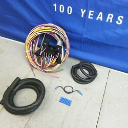 Wire Harness Fuse Block Upgrade Kit For 62-64 Ford Galaxie Stranded Insulation T