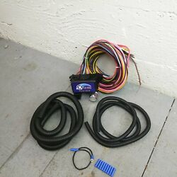 Wire Harness Fuse Block Upgrade Kit For 1937 - 1939 Nash Lafayette Street Rod