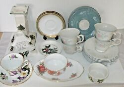 Royal Doulton, Paragon, Adderley,spode,portmeirion Mixed Lot From List
